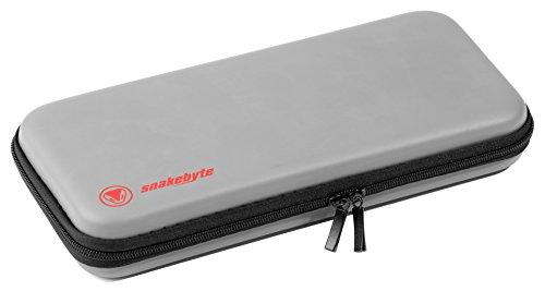 snakebyte Switch TRAVEL:CASE - grau - für Nintendo Switch - stabile Aufbewahrungstasche