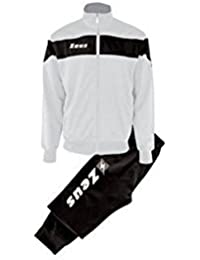 Zeus Tuta Apollo Chándal de Fútbol Sala para Hombre Complemento Relax  Pegashop Colour Blanco-Negro deb6c9becb9b