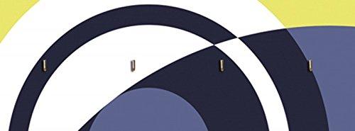 artland-tavola-porta-chiavi-con-motivo-stampata-su-legno-con-4-ganci-jule-pattern-of-circles-motivi-