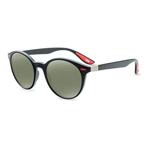 EUCoo MäNner Frauen Radfahren Brille Neue Runde Uv-Schutzbrillen-Outdoor Sport Sonnenbrillen Her(A)