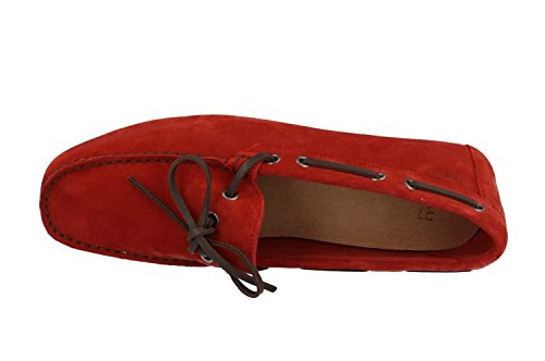 Frau 31a2 Chaussure Rouge Castoro Rosso