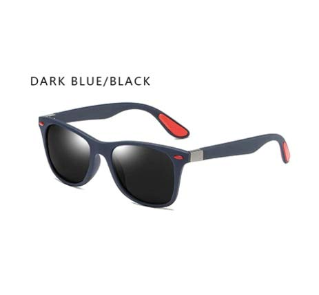 KHKJ Fashion Polarized Sunglasses Men Women Driving Square Frame Sun Glasses Male Goggle Shades Coating Mirror Female