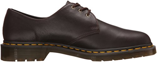 Dr. Martens 1461, Derby Mixte Adulte Marron (Black)