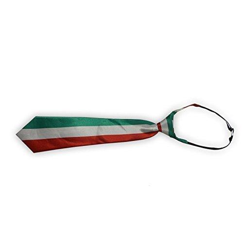 Lively Moments Krawatte / Schlips / Binder Italien / Italy / Fanartikel für Fußball