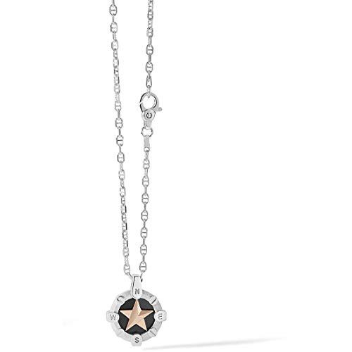 Comete collana uomo gioielli stella polare trendy cod. ugl 656