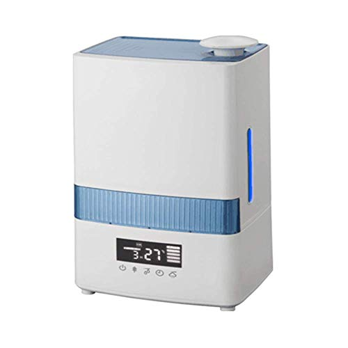 LVLUOYE Humidificador ultrasónico para dormitorios y bebés, con Monitor de Humedad, Gran evaporador de habitación, Oficina en casa Gran Capacidad de oxígeno perfumado humidificador silencioso