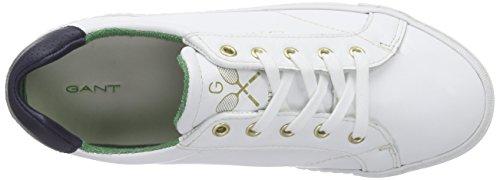 Gant Alice, Baskets Basses femme Blanc - Weiß (white G29)
