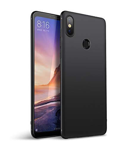 Olliwon Funda Xiaomi Mi Mix 3, Ultra Slim Silicona TPU Carcasa Anti-Arañazos y Antideslizante 360 Cover Case para Xiaomi Mi Mix 3 Nergo