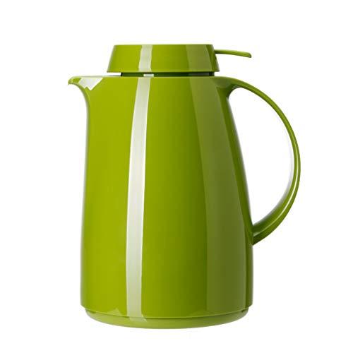 WLHW Trinkflaschen Thermoskannen, Haushalt Großraum-Glasliner-Thermosflasche Verschleißfest Auslaufsicher Gesundheits- Und Umweltschutz 1,5L (Farbe : Green)
