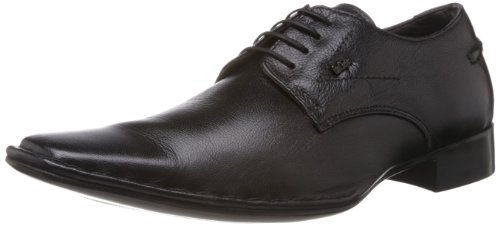 Lee Cooper Men's Black Leather Formals & Lace-Up Flats (LC9896) - 9UK/India (43EU)