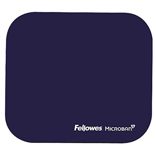 Fellowes Microban antibakteriell rechteckig Mauspad blau -