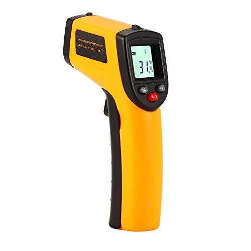 ctlite Handheld Digital Thermometer, IR Infrarot-Thermometer Berührungslose Digital Temperatur Gun Tester-50~ 380°C Pyrometer mit LCD-Display mit Hintergrundbeleuchtung