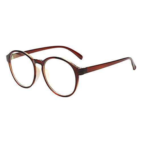 Xinvision Herren Damen Kurzsichtig Gläser,Retro Groß Voll Rahmen Kurzsichtigkeit Myopia Kurzsicht Brillen Stärke -1.0 -1.50 -2.0 -3.0 -4.0 -5.0 -6.0 (Diese sind nicht Lesen Brille)