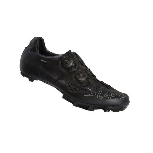 Lake , Chaussures de cyclisme pour homme Orange-Black Noir