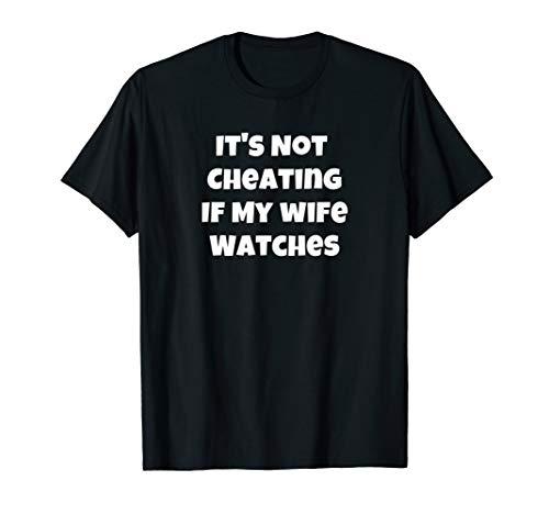 end, wenn meine Frau Uhren Swinger-Uhren T-Shirt ()