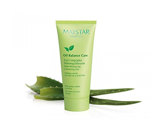 MAYSTAR - OIL BALANCE CARE Gel Limpiador. Jabón limpiador facial anti acné para pieles grasas. Jabón limpiador facial anti acné para pieles grasas. 100 ml