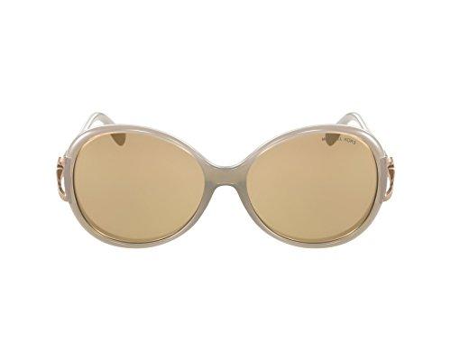 Michael Kors Damen Sonnenbrille MK2011B Sonoma, Weiß (Birch White 3043R1), One size (Herstellergröße: 58)