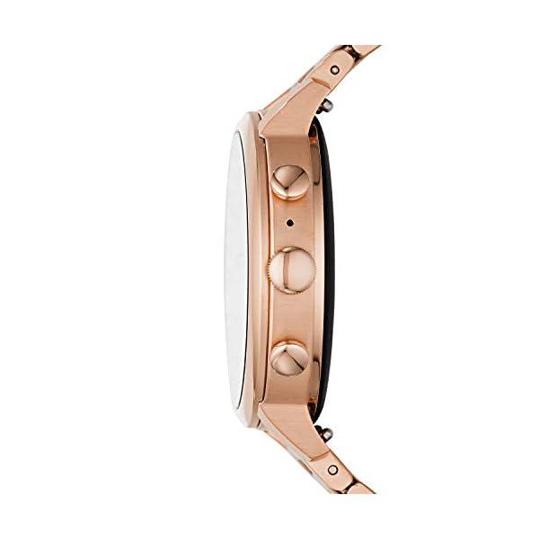 Fossil Connected Smartwatch Gen 4 para Mujer con tecnología Wear OS de Google, frecuencia cardíaca, GPS, NFC y… 5