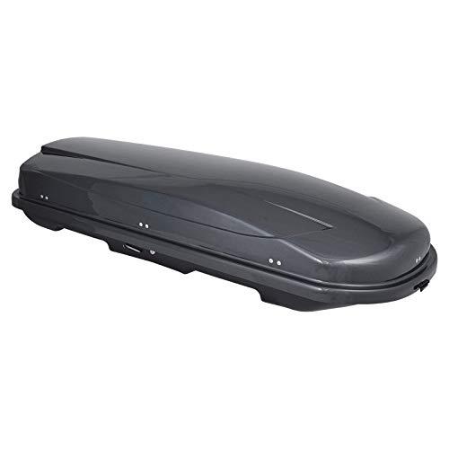 Dachbox Junior Xtreme 450 grau glänzend (138451)