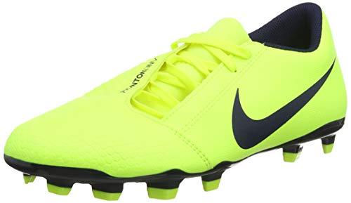 nike phantom venom club fg, scarpe da calcio unisex-adulto, giallo (volt/obsidian/volt 717), 39 eu