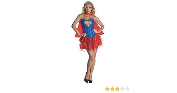 26ead4058fb Rubie s Official Ladies Supergirl Corset and Tutu