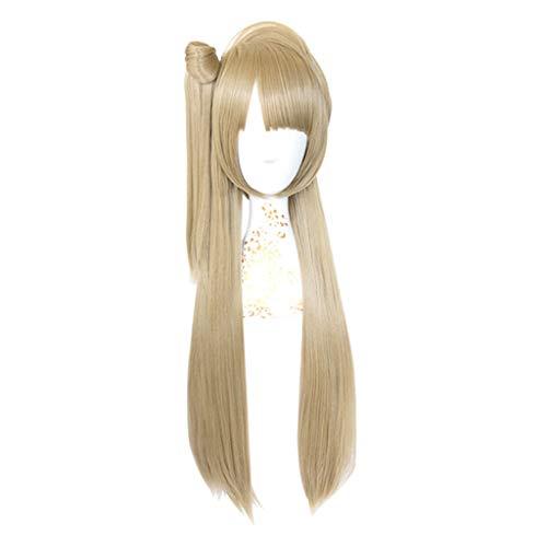 (LNNA Liebesleben! (Kotori Minami) Anime Cosplay Rose Net Perücken 100% Hochtemperaturbeständige Faser Ombre Leinen Farbe Lange Gerade Haar 32 zoll)