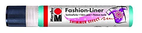 Marabu 25 ml Fashion Liner Shimmer, Caribbean by Marabu