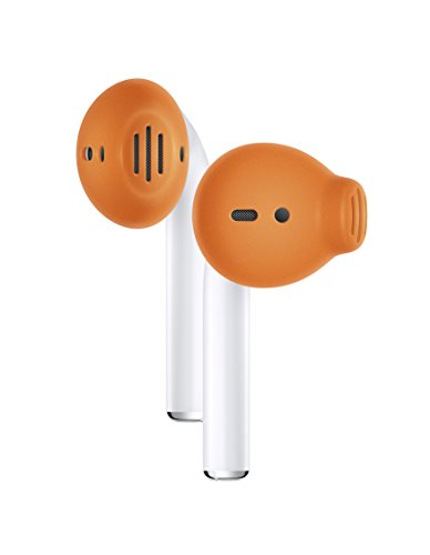 Earskinz earpod copri cuffie (es3) - arancione - per apple airpods