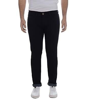 Ben Martin Men's Regular Fit Denim Jeans(BMW7-JJ-BLACKa-28)