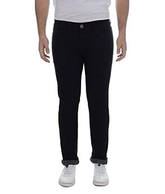 Ben Martin Men's Relaxed Fit Jeans (BM7-JJ-BLACKa-28-1)
