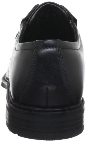 Bugatti T2107S1, Scarpe stringate uomo nero (Schwarz (schwarz 100))