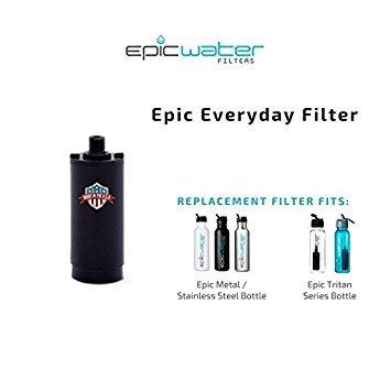 Everyday Ersatz Filter für Edelstahl Flasche, Tritan Flasche, und die Antwort von Epic Wasser Filter - Wasser Filter Flasche