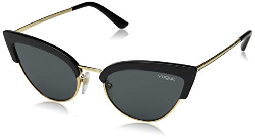 Vogue Eyewear Damen 0VO5212S W44/87 55 Sonnenbrille, Schwarz (Black/Gold/Grey)