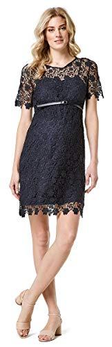 ESPRIT Maternity Damen Umstandskleid Dress Brautkleid Hochzeitskleid (44 (44), Night Blue (486))