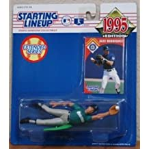starting lineup 1995 extended Alex Rodriguez rookie figure by Kenner