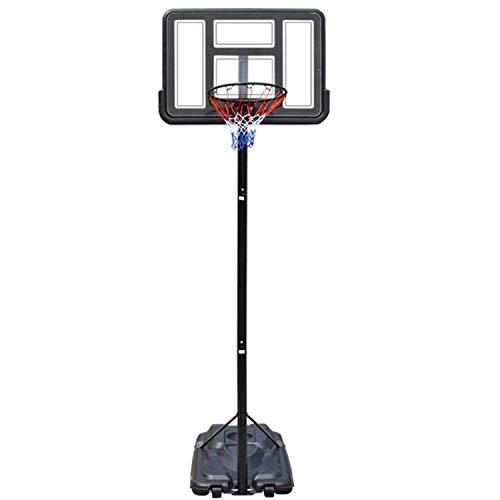 WeeLion Outdoor-Basketballkorb für Erwachsene und Kinder zum schnellen Einstellen der Höhe: 1,9 bis 3,05 Meter (NBA-Gesamthöhe)