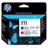 HP cartouches d'origine hP cE017A noir mat/rouge