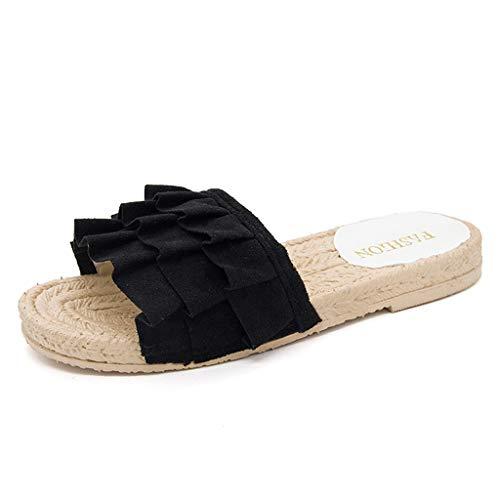 Sandalias Mujer Sandalias Mujer Verano 2019 Sandalias Planas Sandalias de Vestir Playa Zapatos Sandalias...