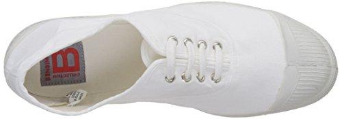 Bensimon Damen Tennis Lacet Femme Flach Weiß (Weiß)