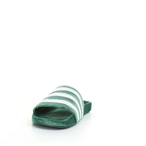 adidas Adilette, Scarpe da Spiaggia e Piscina Uomo Verde