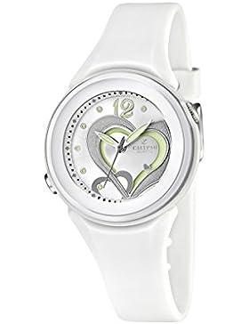 Calypso watches Mädchen-Armbanduhr Analog Kautschuk K5576/1