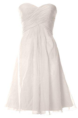 MACloth - Robe - Femme blanc ivoire