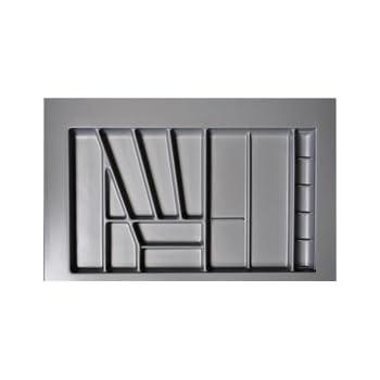 besteckeinsatz 80er schrank h he 50 mm schublade b k che haushalt. Black Bedroom Furniture Sets. Home Design Ideas