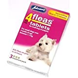 New Johnsons Flea Tablets Treatment for Small Dogs Puppies
