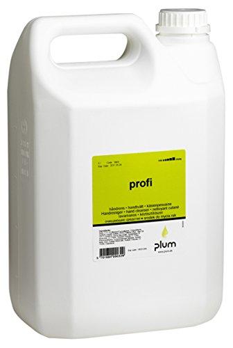 Plum 0903 Handreiniger, Profi, Kanister mit Dosierpumpe, 5 L (3-er Pack)