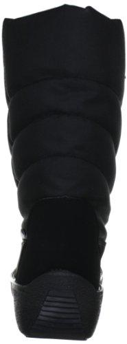 Manitu 990525 Damen Warm gefütterte Schneestiefel Schwarz (Schwarz)