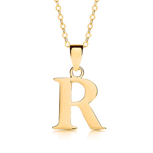 Theia 9ct Yellow Gold Personalised Initial Pendant, used for sale  Delivered anywhere in UK