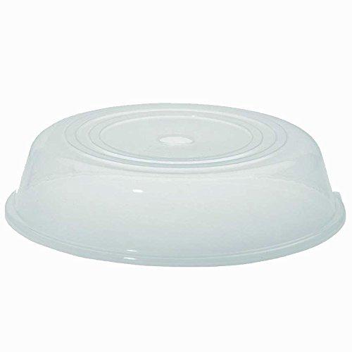 Tellerabdeckhaube Abdeckung Spritzschutz für die Mikrowelle, Kunststoff, ca. 25.5 x 6.5 cm, temperaturbeständig von ca. -40°C bis ca. +120°C, spülmaschinengeeignet (Kunststoff-abdeckung Die Für Mikrowelle)