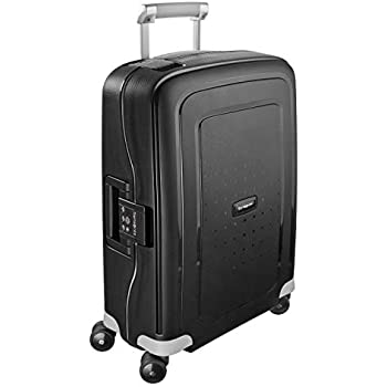 Samsonite S'Cure - Spinner 55 - 2,90 Kg Hand Luggage, 55 cm, 34 L, Black