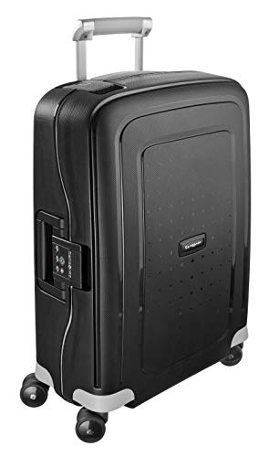 Samsonite S'Cure, Valigia Trolley piccolo, Nero (Black), 34 liters, S (55cm-34L)
